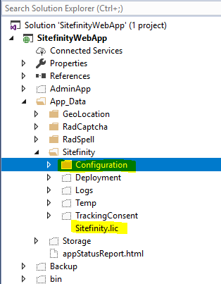 Publish your project to Azure App Services - Sitefinity CMS