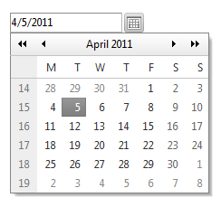 Use the date picker control - Sitefinity CMS Widgets