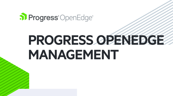 OpenEdge Management