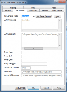 Configure Salesforce ODBC