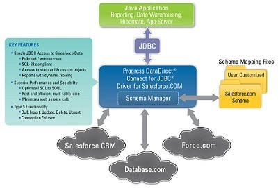 SQL access via ODBC/JDBC versus web services APIs to SaaS