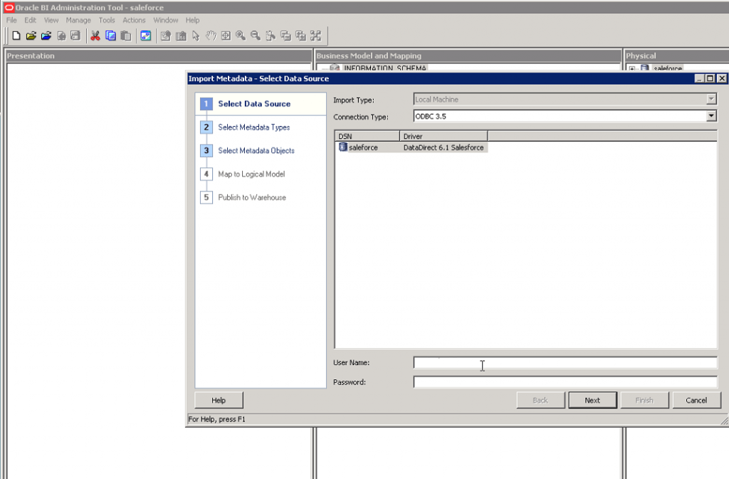 how to connect to progress database using odbc