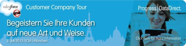Salesforce Customer Company Tour München 2013