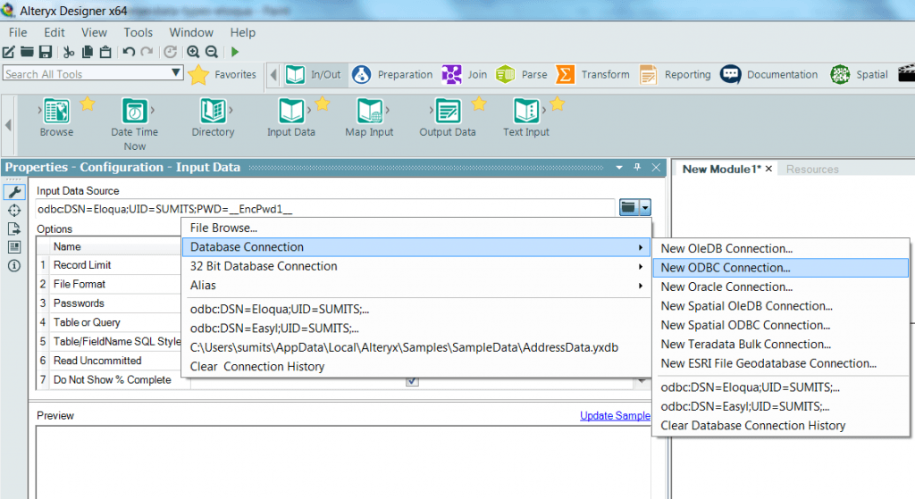 alteryx-new-odbc-connx
