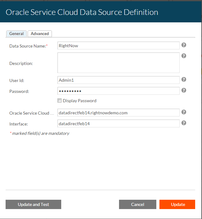 Migrating Oracle Service Cloud (RightNow) ODBC to Crystal