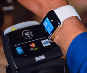 NFC on Apple Watch