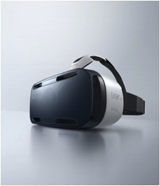 A photo of the Samsung Gear VR