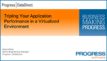 Tripling Your Application Performance in a Virtualized Environment