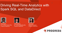 Driving Real-Time Analytics with Spark SQL and DataDirect
